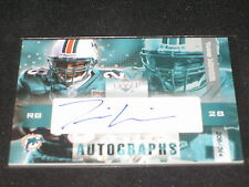 Travis Minor 2003 Dolphins Certified Authentic Hand Signed Autographed Card /364