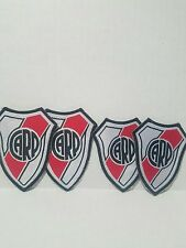 4x CARP Club Atlético River Plate, Soccer Team, Iron on Patch. NEW