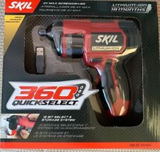 SKIL 2356-03 NEW 4V 360 Quick-Select 12-Bit Cordless 4 Volt Power Screwdriver