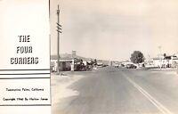 Real Photo Postcard The Four Corners in Twentynine Palms, California~125852