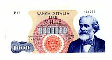 Italy … P-96b … 1,000 Lire … 5.7.1963 ... ch*VF++*.