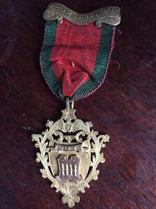 Masonic Raob Silver Medal Hallmarked London