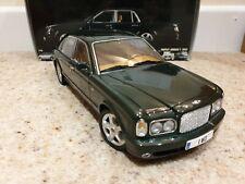 Minichamps 1:18 scale Bentley Arnage T 2002 - Green Metallic - boxed Rare