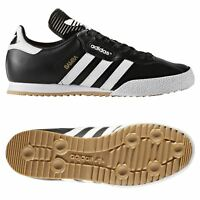 adidas ORIGINALS MEN'S SAMBA SUPER TRAINERS BLACK RETRO CLASSIC LEATHER SHOES