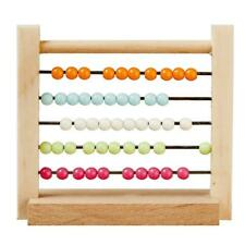 Dolls House Abacus Counting Frame 1:12 Nursery Toy School Accessory