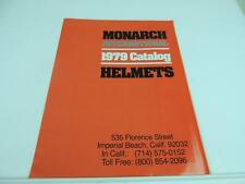 1979 Monarch International Motorcycle Helmets Catalog And Price List L1338