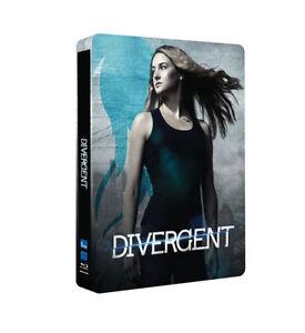 Divergent blu ray Steelbook ( NEW ) REG B