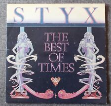Styx, the best of times / miss America, SP - 45 tours