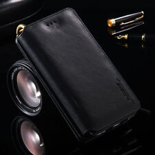 Multifunction Leather Wallet Card Zipper Flip Case Cover For iPhone 5S 6 6S Plus