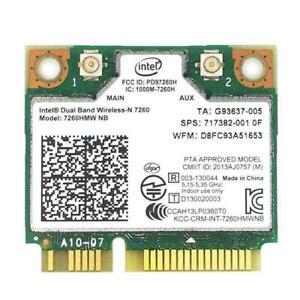 Wireless Wifi Card Dual Band 7260HMW 7260NB MINI PCIE 802.11AN /a/b/g/n W Fast