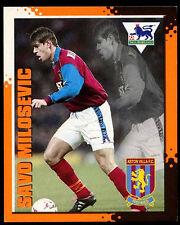 Savo Milosevic #017 Merlin Premier League Kick Off Football 1997 Sticker (C219)