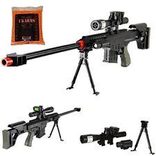 Airsoft Sniper Rifle Barrett M82A1 Gun M107 Tactical Pistol with 1000 .12g bbs