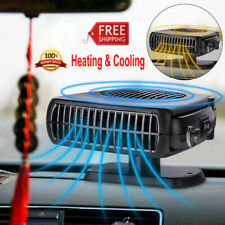 12 Volt DC Car Auto Portable Electric Heater Fan Windscreen Defroster Demister