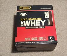 1 box GOLD STANDSRD 100% WHEY PROTEIN POWDER