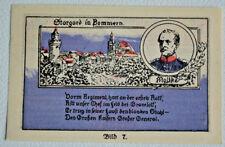 STARGARD (Pom/Polen:Szczeciński) 1 Mark Notgeld Kolberger Grenadiere Bild:7(3286