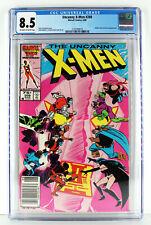 Uncanny X-Men #208 CGC 8.5