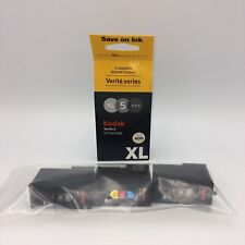 Kodak Verite 5 XL Black  5 XXL Color Empty Ink Cartridges and Empty Box Lot