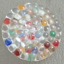 Sports Retro Fashion Dressmaking 1940s Vintage Single Glass Button Dots