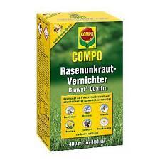 Compo Rasenunkraut-Vernichter Banvel Quattro 400 ml Unkrautvernichter Herbizid