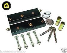 Cerraduras De Puerta De Garaje Pernos-un par operado en la misma llave para mayor seguridad