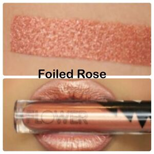 "FLOWER MIRACLE MATTE METALLIC LIQUID LIP #10 ""Foiled Rose"" 0.176 OZ"