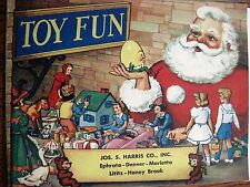"Antique Vintage Christmas Catalog for ""Jos.S.Harris, Co"" w Slinky & Howdy Doody*"