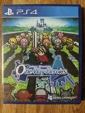 Limited Run Games #20 MYSTERY CHRONICLE: ONE WAY HEROICS (PS4) *FACTORY SEALED*