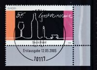 BRD 2005 gestempelt ESST MiNr. 2457  Europa  Gastronomie