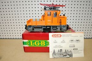 LGB 2033 Track Maintenance Electric Locomotive w/Flashing Lights *G-Scale*