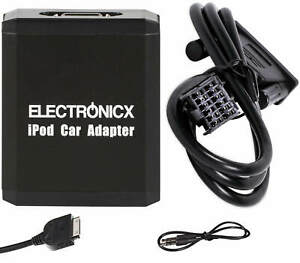 Adapter Aux IPHONE IPAD Ipod CD Changer Mazda Ford To 2009