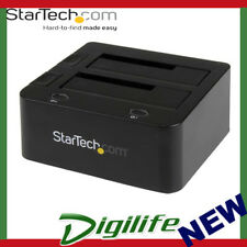 StarTech Universal Docking Station for Hard Drives  USB 3.0 with UASP UNIDOCKU33