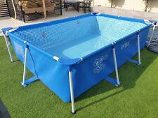 Intex Swimming Pool Large - Rectangular Frame - 300 x 200 x 75cm - Fast Dispatch