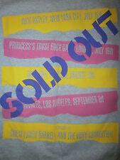vtg 80s CONCERT TOUR T SHIRT Rick Astley Bon Jovi Bangles 93Q Princes Trust Gala