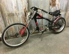 Schwinn OCC StingRay Bicycle, Orange County Chopper Bike, Black Red Flames Bike