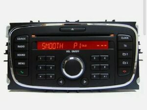 Ford Focus 6000 CD Player Radio Aux Unit Refurbed Quality Product +Code Warranty
