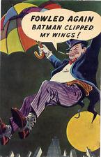 The Penguin•Batman•Series 1 #8•National Periodical 1966•Vintage POSTCARD