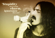 "Frank Zappa - 'Stupidity' A1 Size (23"" x 33"") 1 Piece Glossy Poster Art Print!"