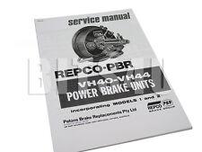 Holden Ford Brake Booster VH40 VH44 FJ FE FC FB EK EH HR XK XL XM XP XT