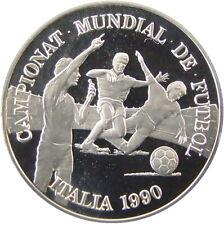 ANDORRA 1989. 10 DINERS SILVER PLATA PROOF - MUNDIAL DE FUTBOL 1990