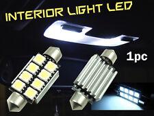 1x Festoon 42mm C10W SV8, 8 SMD LED avvio tronco POSTERIORE LUCI LAMPADINE BIANCO BRILLANTE