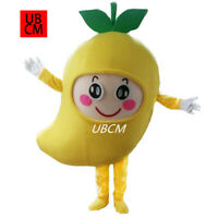 Halloween Mango Mascot Costume Suit Cosplay Party Dress Clothing Carnival Adults