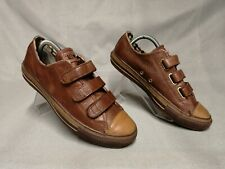 Converse All Star Men's Brown Leather Trainers Size UK 7 EU 40
