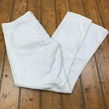J.Crew Matchstick Low Rise Straight Leg Jeans Womens Size 31 S White Denim 66213