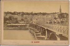 Cabinet SAINT CLOUD c. 1880 - Vue Générale Pont - 1205