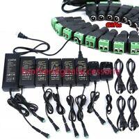 AC DC Power Supply Adapter Transformer 12V 2A 3A 5A 6A 8A 10 Afor 5050 LED Strip