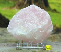 Large ROSE QUARTZ CRYSTAL BOULDER - 674g - Raw Mineral Chakra Crystal Healing