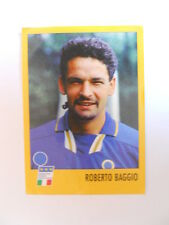 Figurina Stickers Calciatori ALBUM AZZURRI CON IP ROBERTO BAGGIO 1998 [AF]