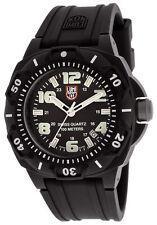 Luminox 0201.SL Men's Black Dial Strap Black Carbon Plastic Watch NEW
