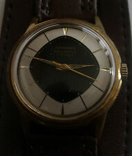 """VERY RARE""""JUNGHANS""""-TRILASTIC-GOLD PLATED- -GERMANY WRIST WATCH MEN,S"""