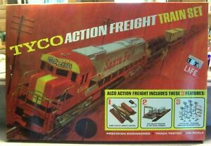 TYCO MANTUA ACTION FREIGHT SET MAIL ORDER MINT WITH INVOICE AND ALL PAPERS NICE!